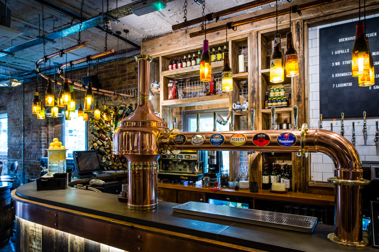 Brewhouse and kitchen logo · our pubs · menus · experiences