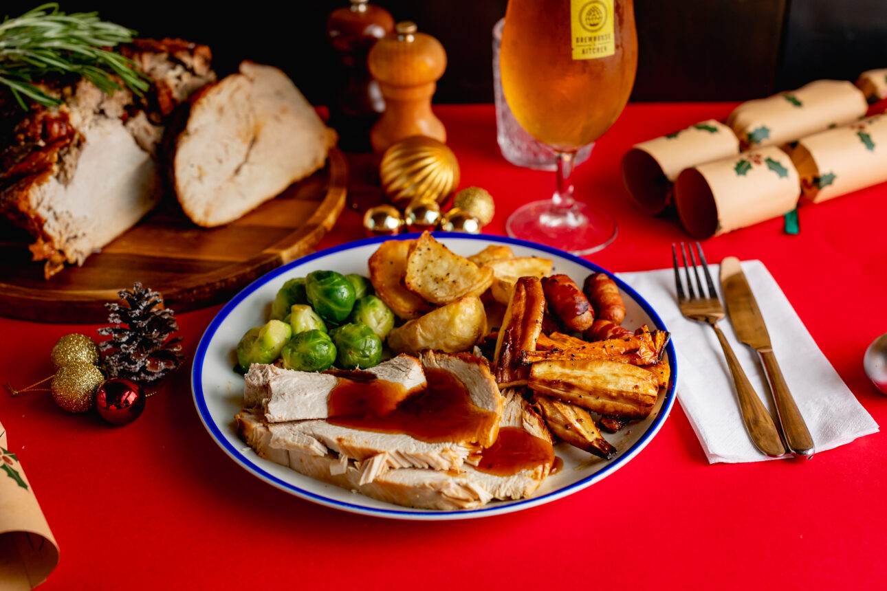 Christmas Meal.Celebrate Christmas At Your Local Brewhouse Kitchen Venue